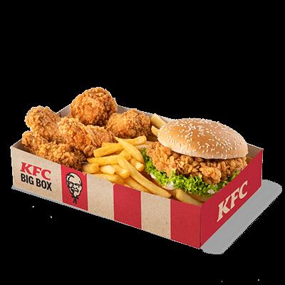 Zinger Burger Box